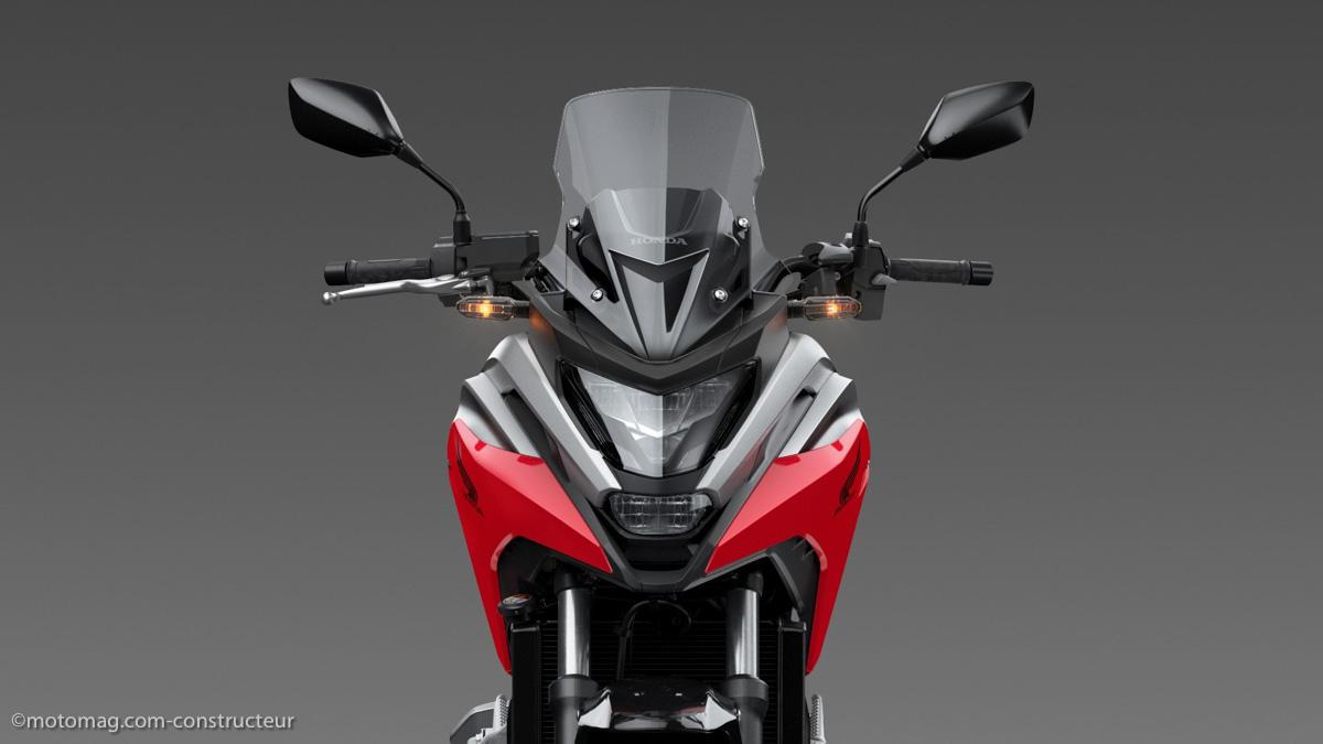 Honda NC 750 X 2021 : moteur revu, ride by wire et plus de coffre