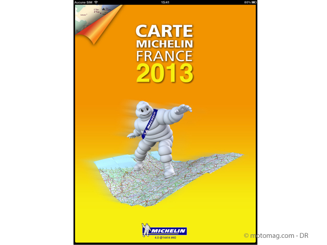 Applications smartphone en test : Michelin en un