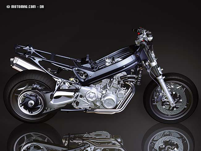 BMW F 800 S : partie-cycle