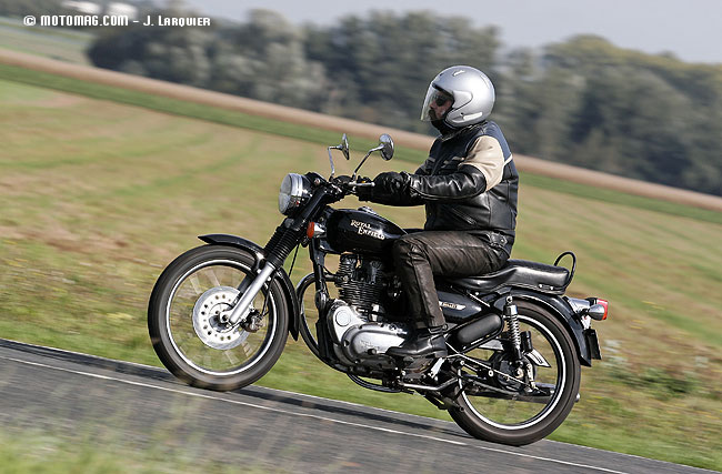 Enfield Bullet 500 Electra : simplement