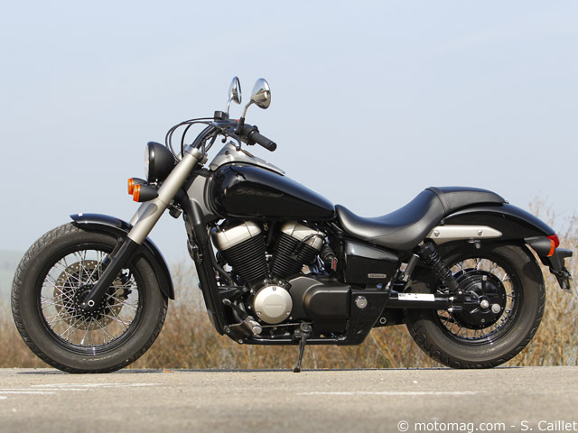 honda vt 750 c2b shadow moto magazine leader de l actualit de la moto et du motard. Black Bedroom Furniture Sets. Home Design Ideas