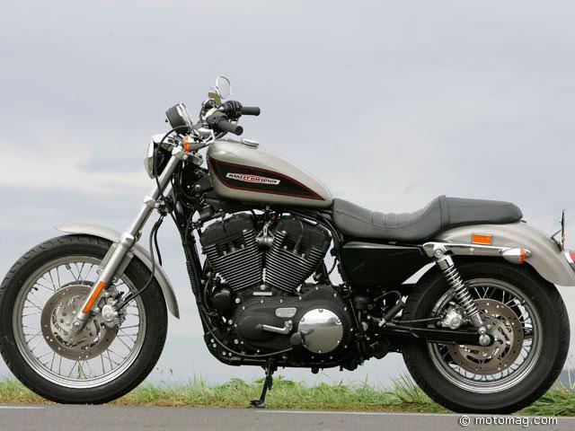 Harley Davidson Xl 1200 Sportster Moto Magazine Leader