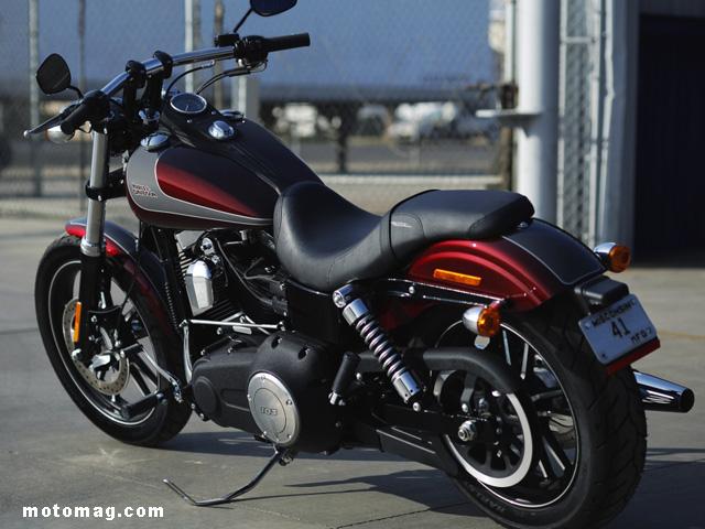 Harley Dyna Street Bob >> Nouveautés 2014 : Harley-Davidson présente 3 modèles ...