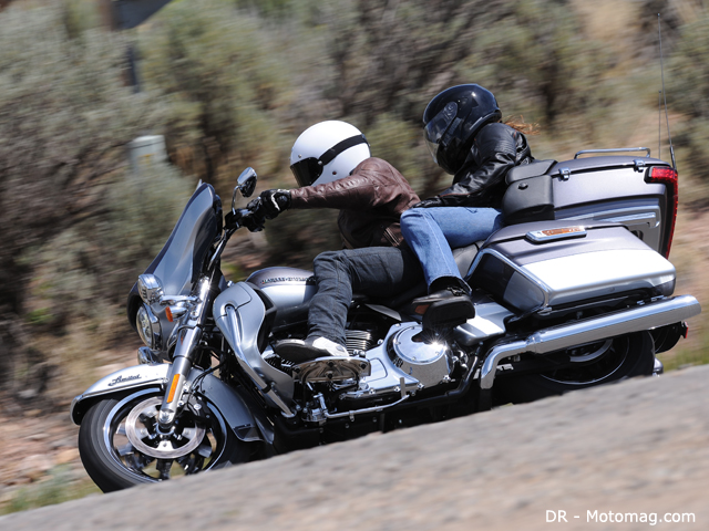 Essai HD 1690 Electra Glide Limited : ABS couplé