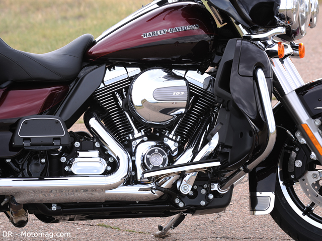 Essai HD 1690 Electra Glide Ltd : V-Twin air et eau