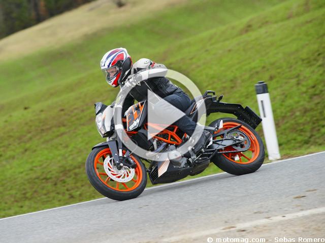 ktm duke 390 label jeune autrichien moto magazine leader de l actualit de la moto et du. Black Bedroom Furniture Sets. Home Design Ideas