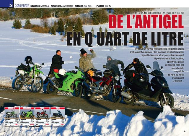 moto magazine n 256 avril 2009 moto magazine leader de l actualit de la moto et du motard. Black Bedroom Furniture Sets. Home Design Ideas