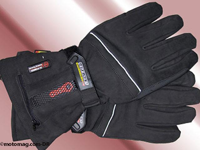 test hiver les gants chauffants autonomes moto magazine leader de l actualit de la moto. Black Bedroom Furniture Sets. Home Design Ideas