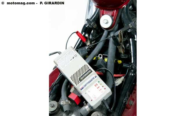 batterie moto qui ne se recharge pas en roulant