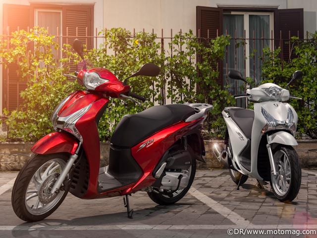 honda sh 125i abs 2013 l outil urbain moto magazine leader de l actualit de la moto et du. Black Bedroom Furniture Sets. Home Design Ideas