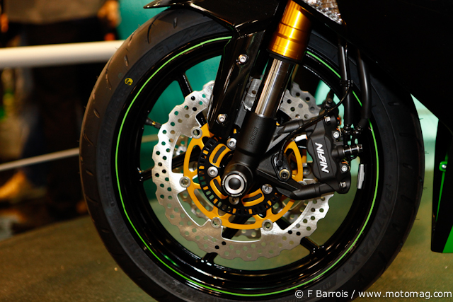 Kawasaki ZX 636 R : ABS en option