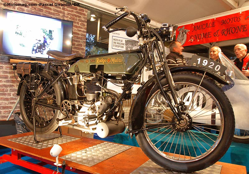 Salon Moto Légende : Rudge Multi 500 1920
