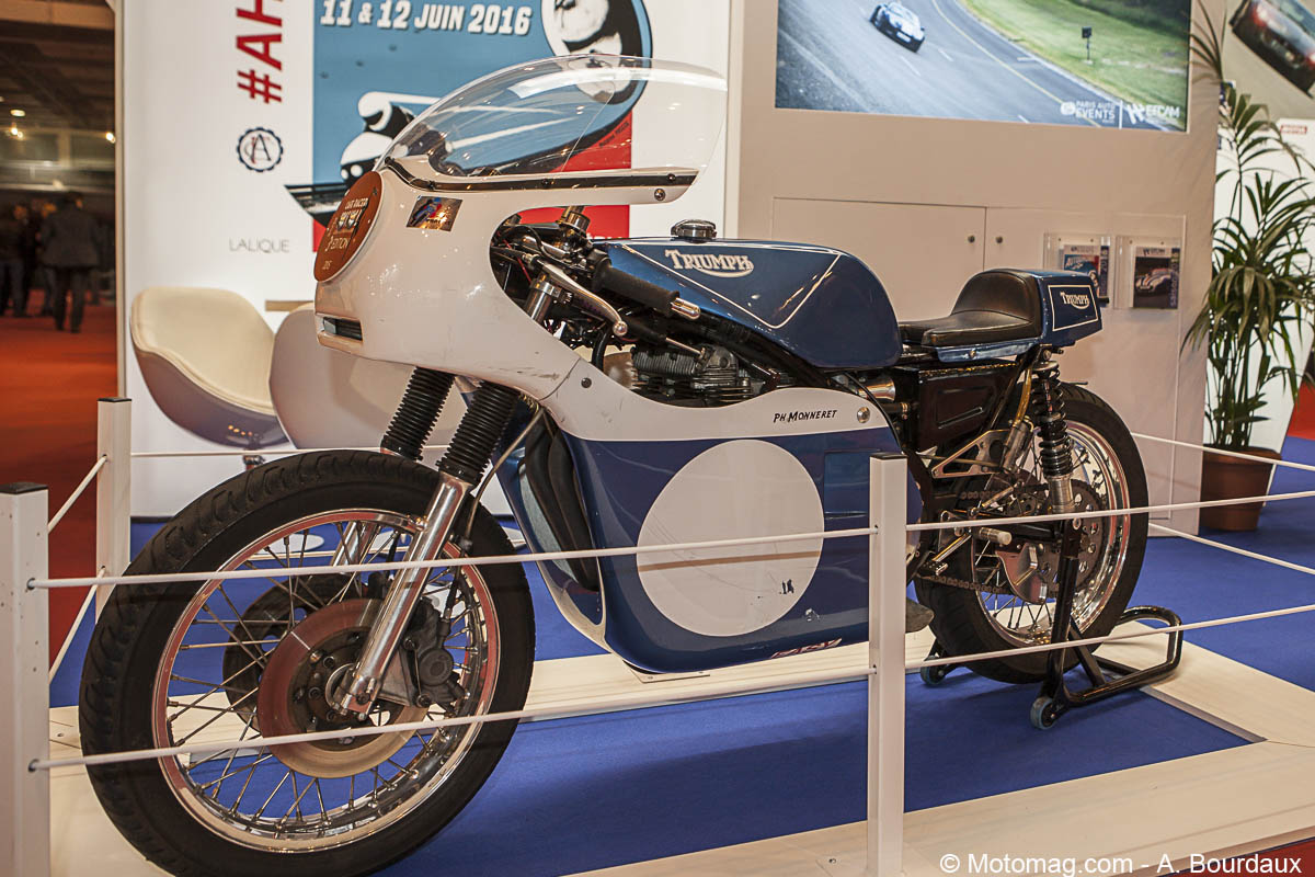 Rétromobile : Triumph Rob North 750