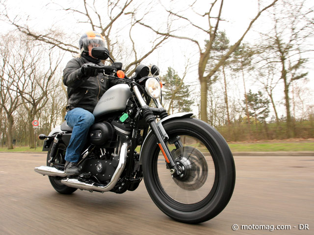 Essai Harley 883 Iron : usage