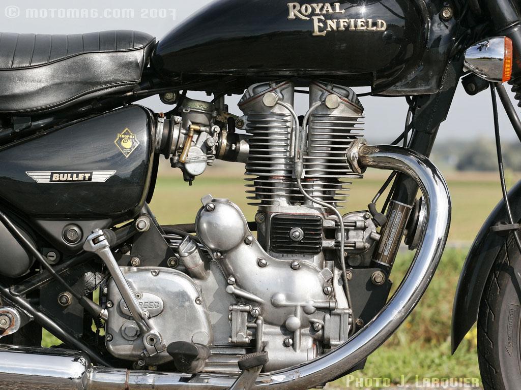royal enfield bullet 500 electra moto magazine leader de l actualit de la moto et du motard. Black Bedroom Furniture Sets. Home Design Ideas