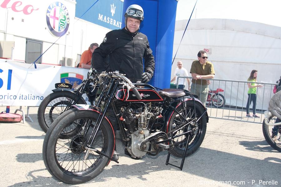 Conduire moto ancienne