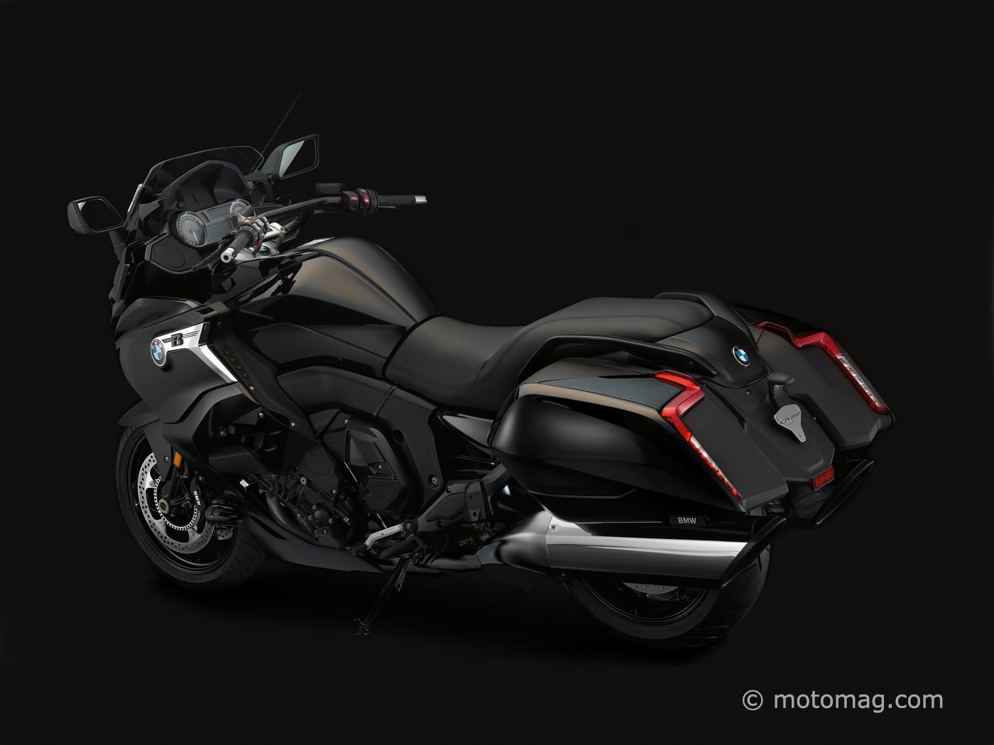 Bmw K 1600 B Le 6 Cylindres Se Decline En Bagger Moto