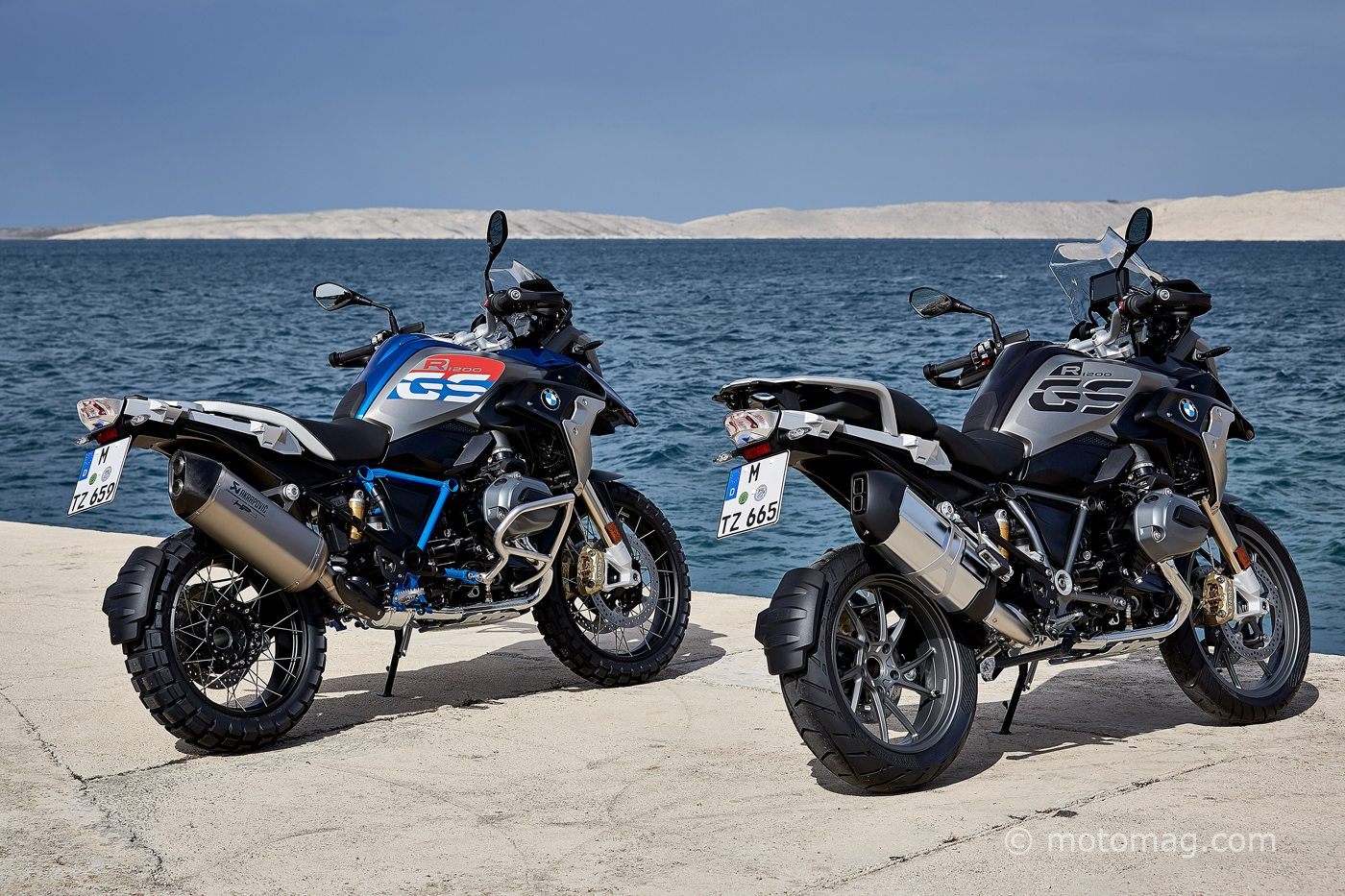 bmw r1200gs 2017 trois versions pour un choix assum. Black Bedroom Furniture Sets. Home Design Ideas