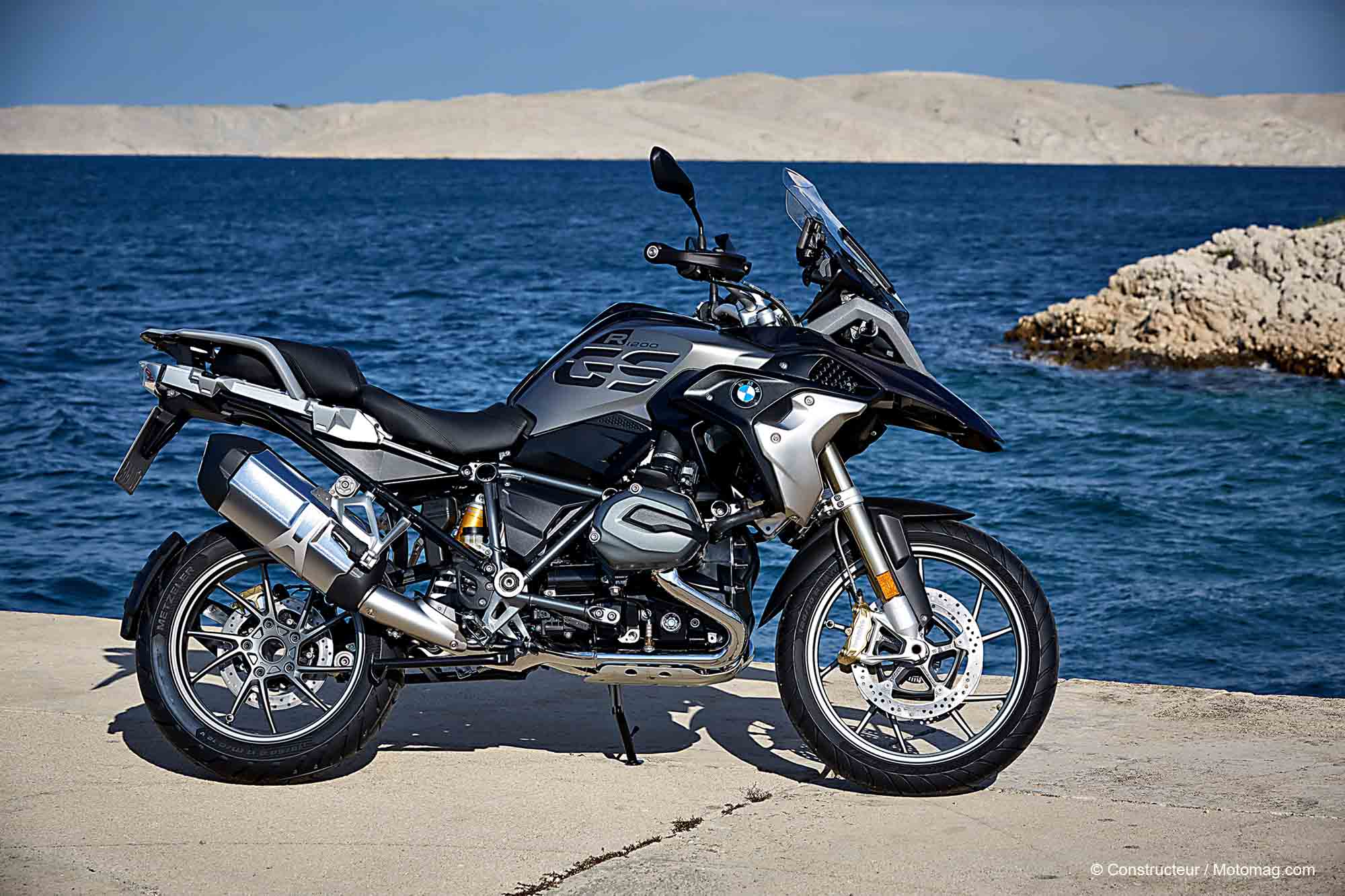 bmw r 1200 gs 2017 l embarras du choix moto magazine. Black Bedroom Furniture Sets. Home Design Ideas