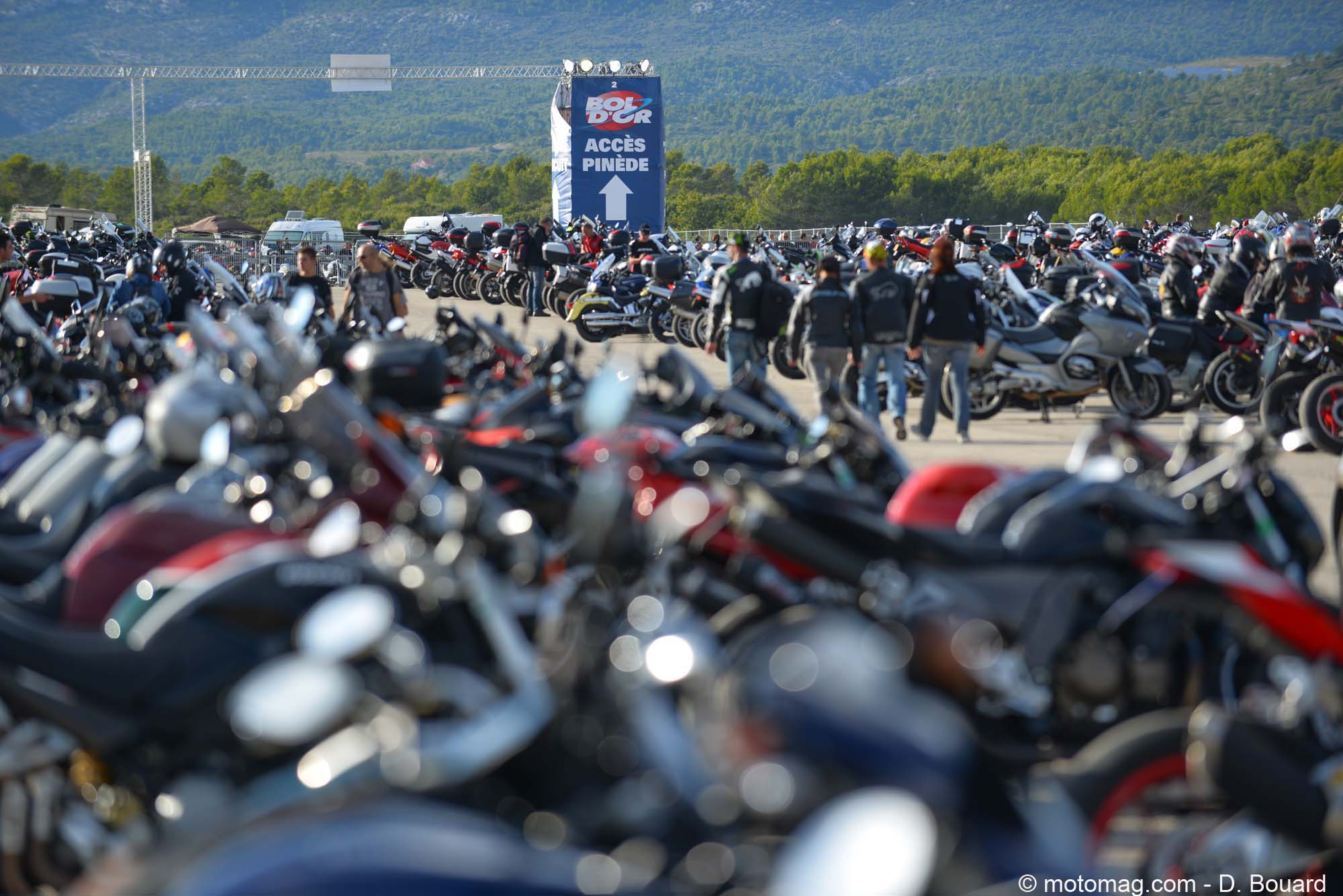 Bol d'Or 2015 : lointains campings…