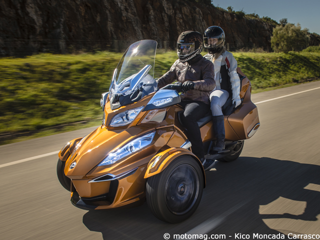 Can-Am Spyder RT Sport : seul à trois-cylindres