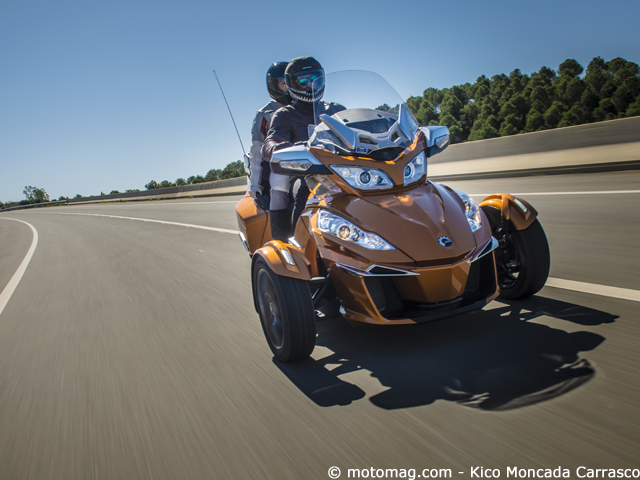 Can-Am Spyder RT Sport : « automobile »