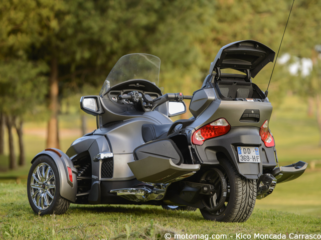 Can-Am Spyder RT Sport : limited et GPS