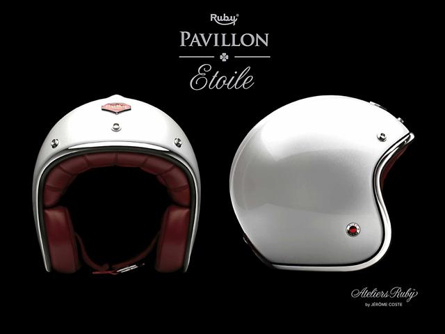 test casque jet ruby pavillon cher mais tr s chic moto magazine leader de l actualit de. Black Bedroom Furniture Sets. Home Design Ideas