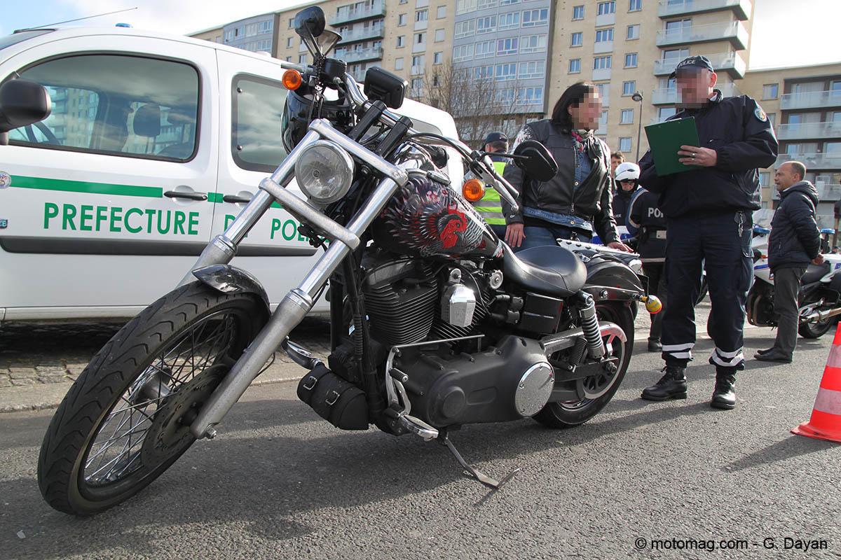 Contr les routiers la chasse aux deux roues est ouverte moto magazine leader de l - Prefecture de police porte de clignancourt ...