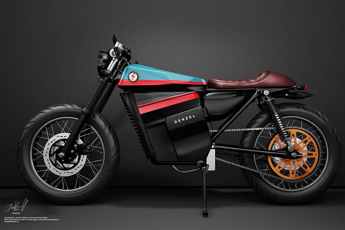 bient t un caf racer lectrique lanc en production moto magazine leader de l. Black Bedroom Furniture Sets. Home Design Ideas