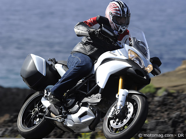 Ducati 1200 Multistrada : grand tourisme