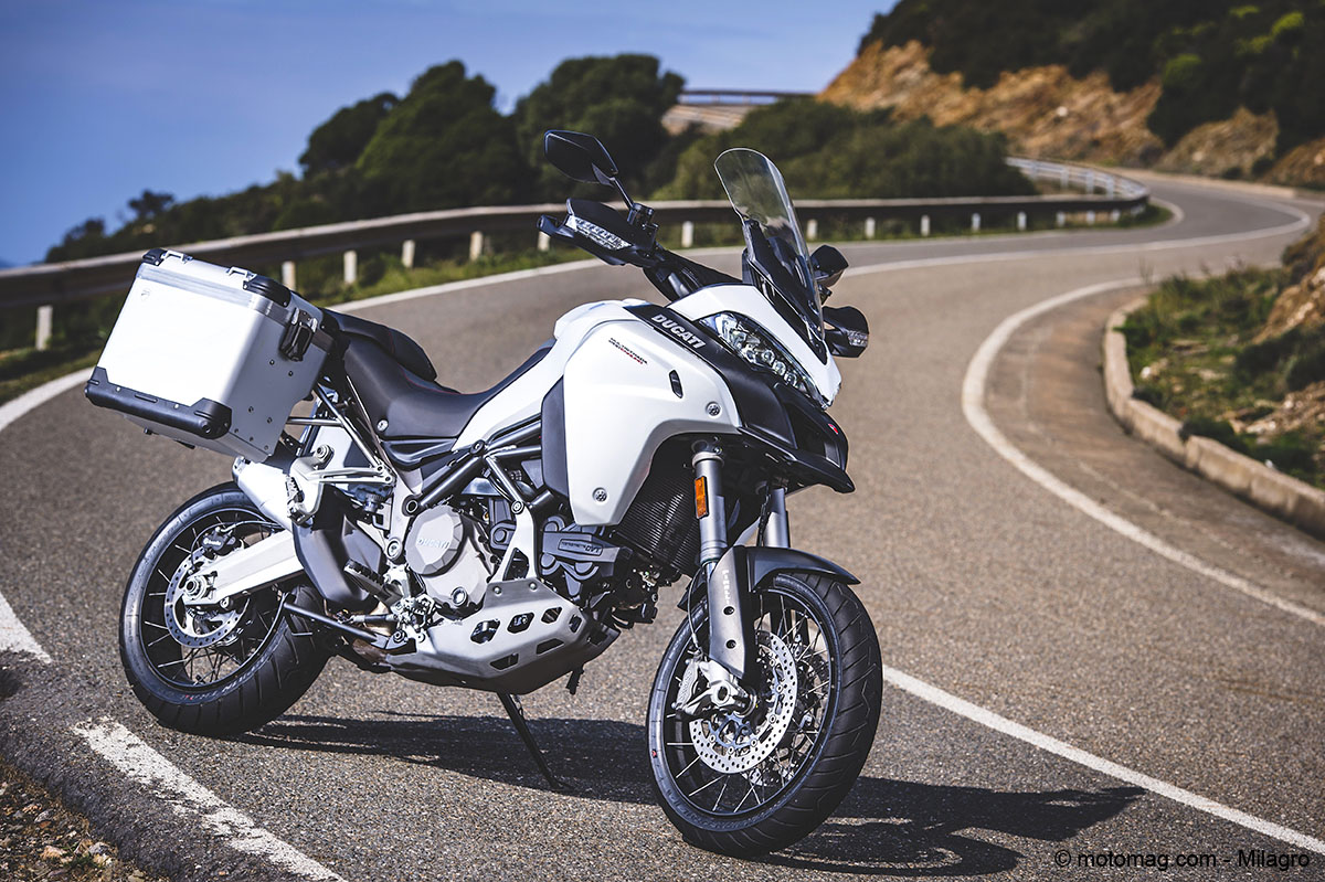 Ducati Multistrada 1200 Enduro : authentique baroudeuse