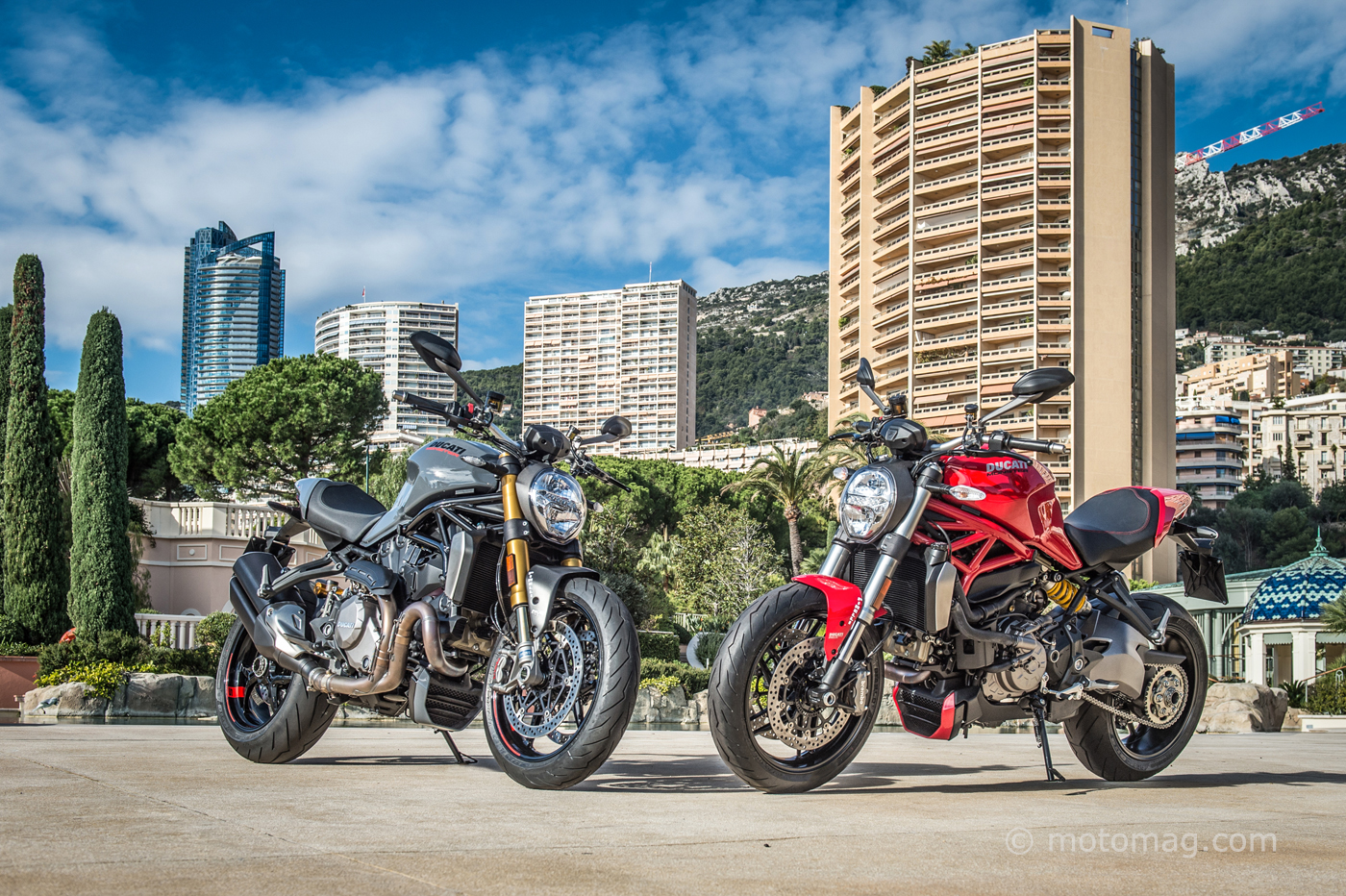 Ducati Monster 1200 S : coloris