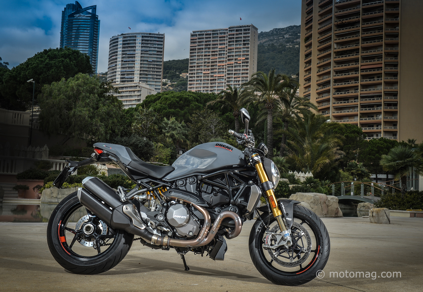 Ducati Monster 1200 S : la belle