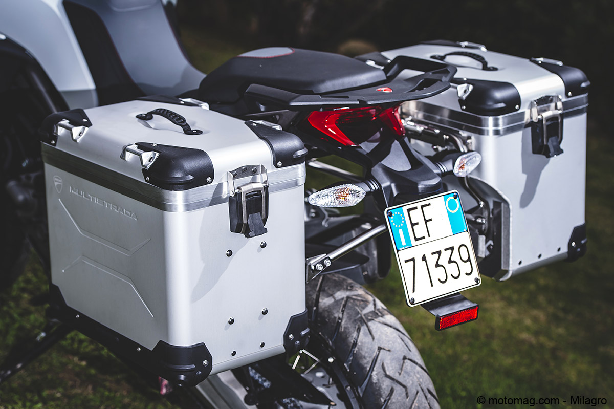 Ducati Multistrada 1200 Enduro : valises en option