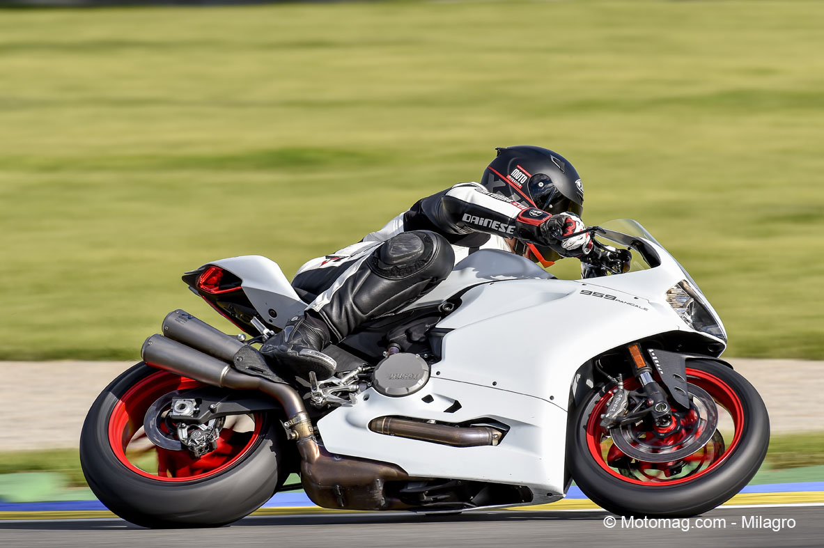 Ducati 959 Panigale : freinage Brembo