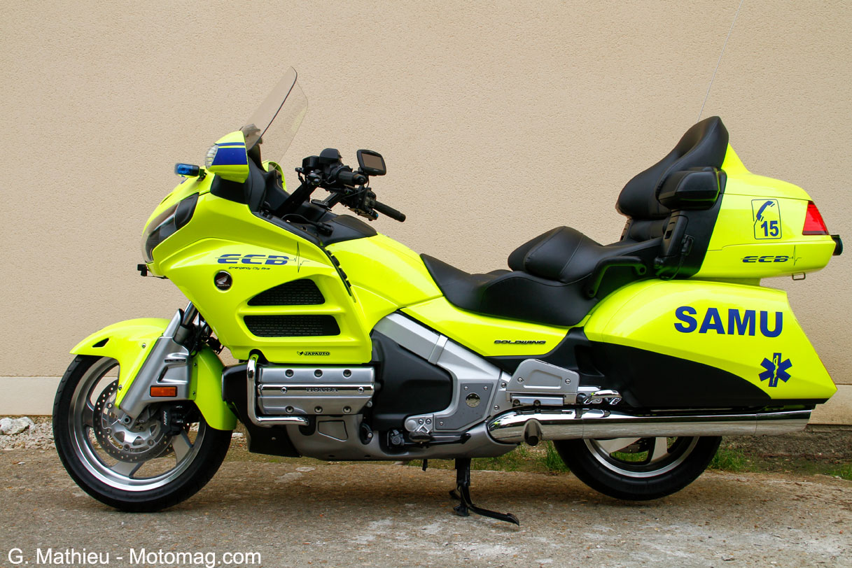 Honda Goldwing ECB, profil gauche