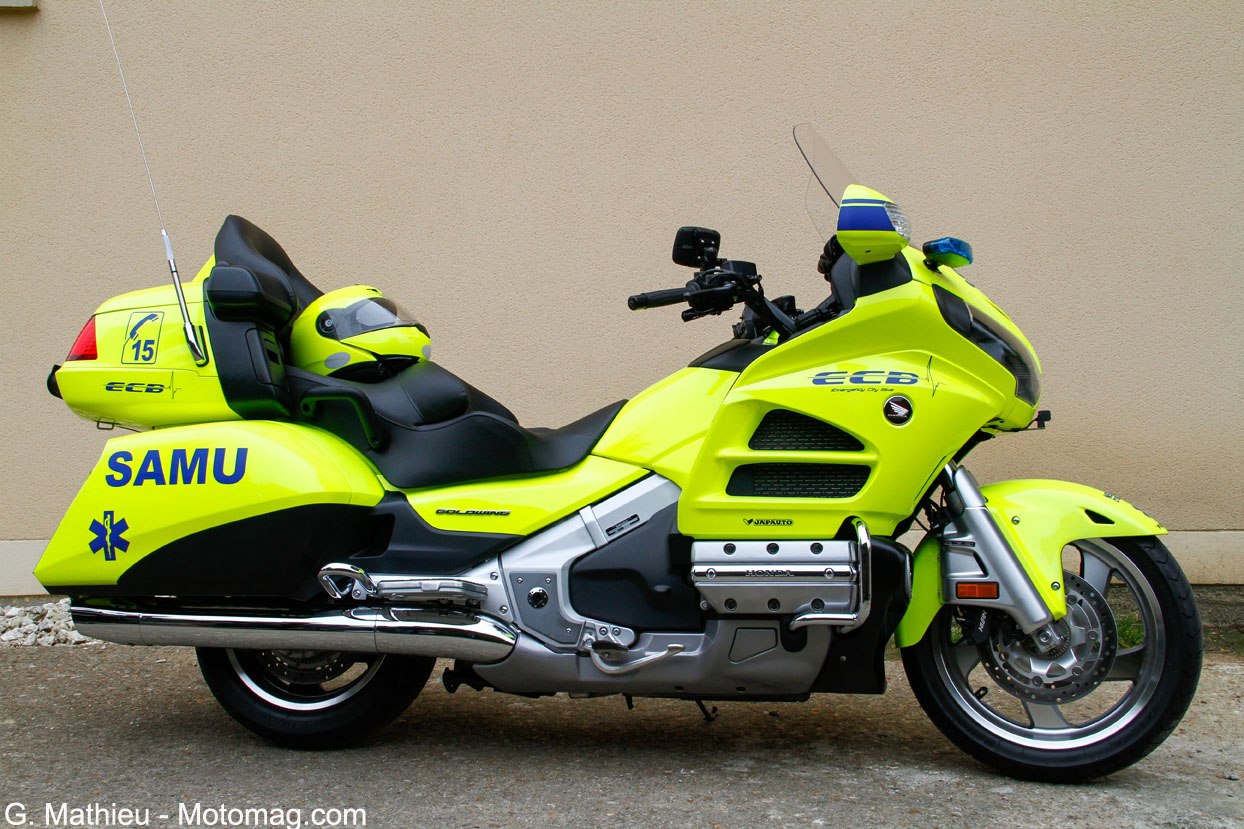 Honda Goldwing ECB, profil droit