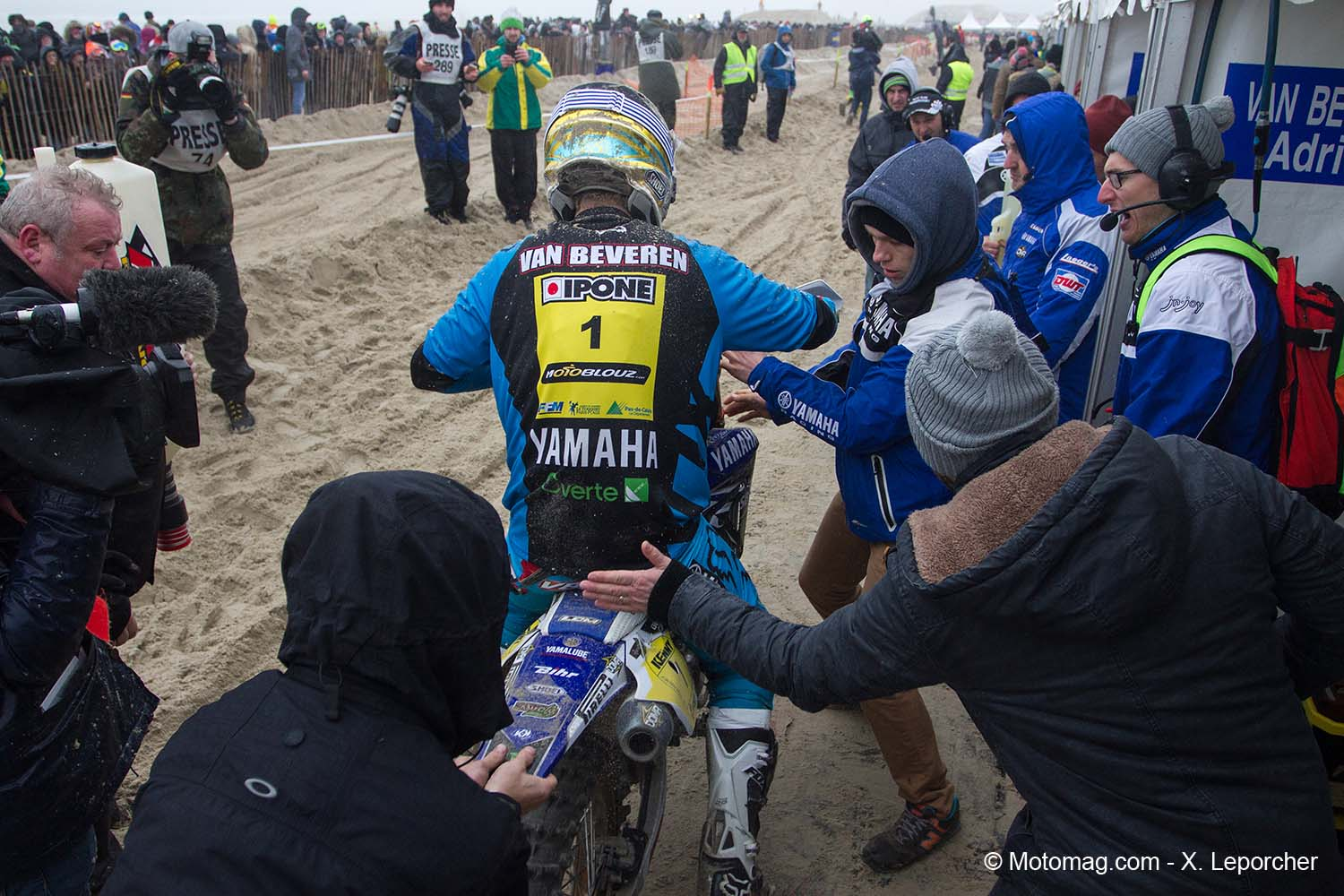 Enduropale : Van Beveren au courage