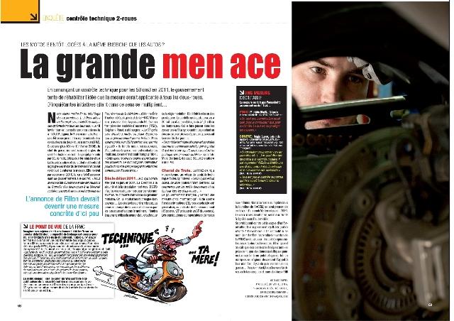 moto magazine n 267 mai 2010 moto magazine leader de l actualit de la moto et du motard. Black Bedroom Furniture Sets. Home Design Ideas