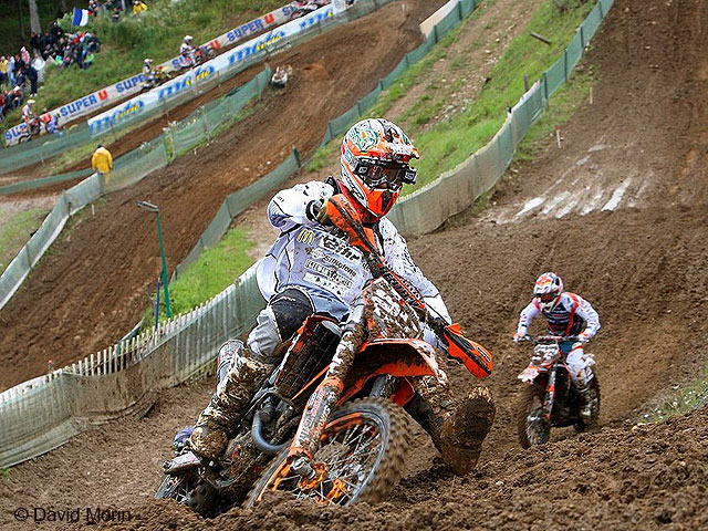 Mondial MX2 d'Ernée : Tonus à un tour du but