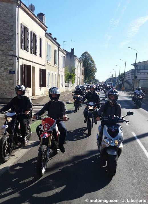 manifestation ffmc agen 800 motards contre le contr le moto magazine leader de l. Black Bedroom Furniture Sets. Home Design Ideas