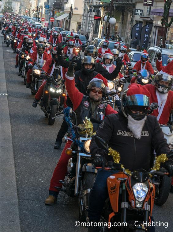 La FFMC 47 joue les Pères Noël au profit des Restos du C1/2ur