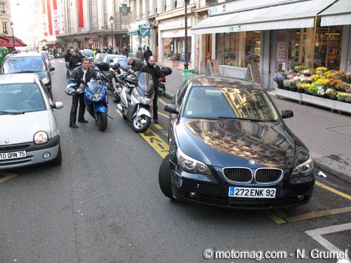 stationnement moto paris cit interdite moto magazine leader de l actualit de la moto et. Black Bedroom Furniture Sets. Home Design Ideas