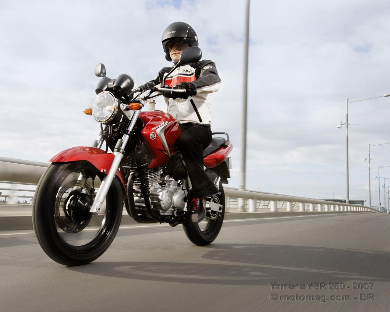 YBR 250 YBR Custom V19 R/étroviseur miroir pour Yamaha YBR 125 YBR 250