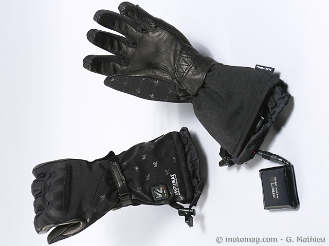 gants moto chauffants femme v 39 quattro chiara doigts de moto magazine leader de l. Black Bedroom Furniture Sets. Home Design Ideas