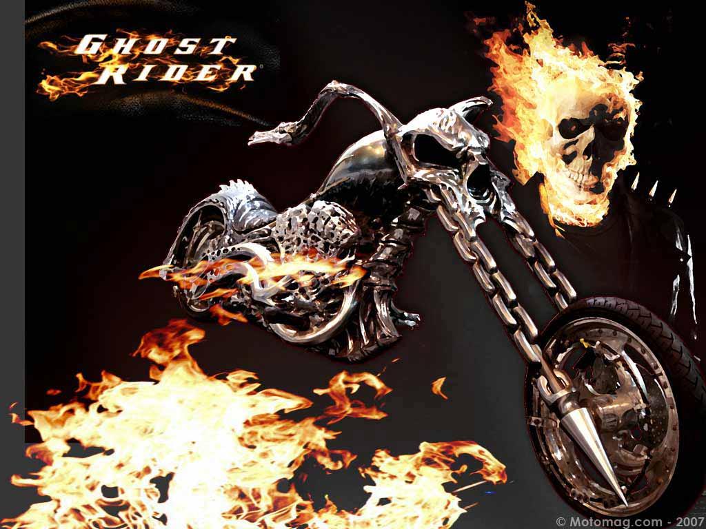 Dvd Moto Fiction Le Film Quot Ghost Rider Quot Moto Magazine
