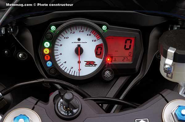 Suzuki Gsxr 600 >> Suzuki 600 GSX-R : radicale - Moto Magazine - leader de l'actualité de la moto et du motard