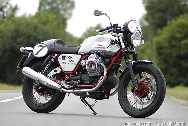 moto guzzi v7 racer moto magazine leader de l actualit de la moto et du motard. Black Bedroom Furniture Sets. Home Design Ideas