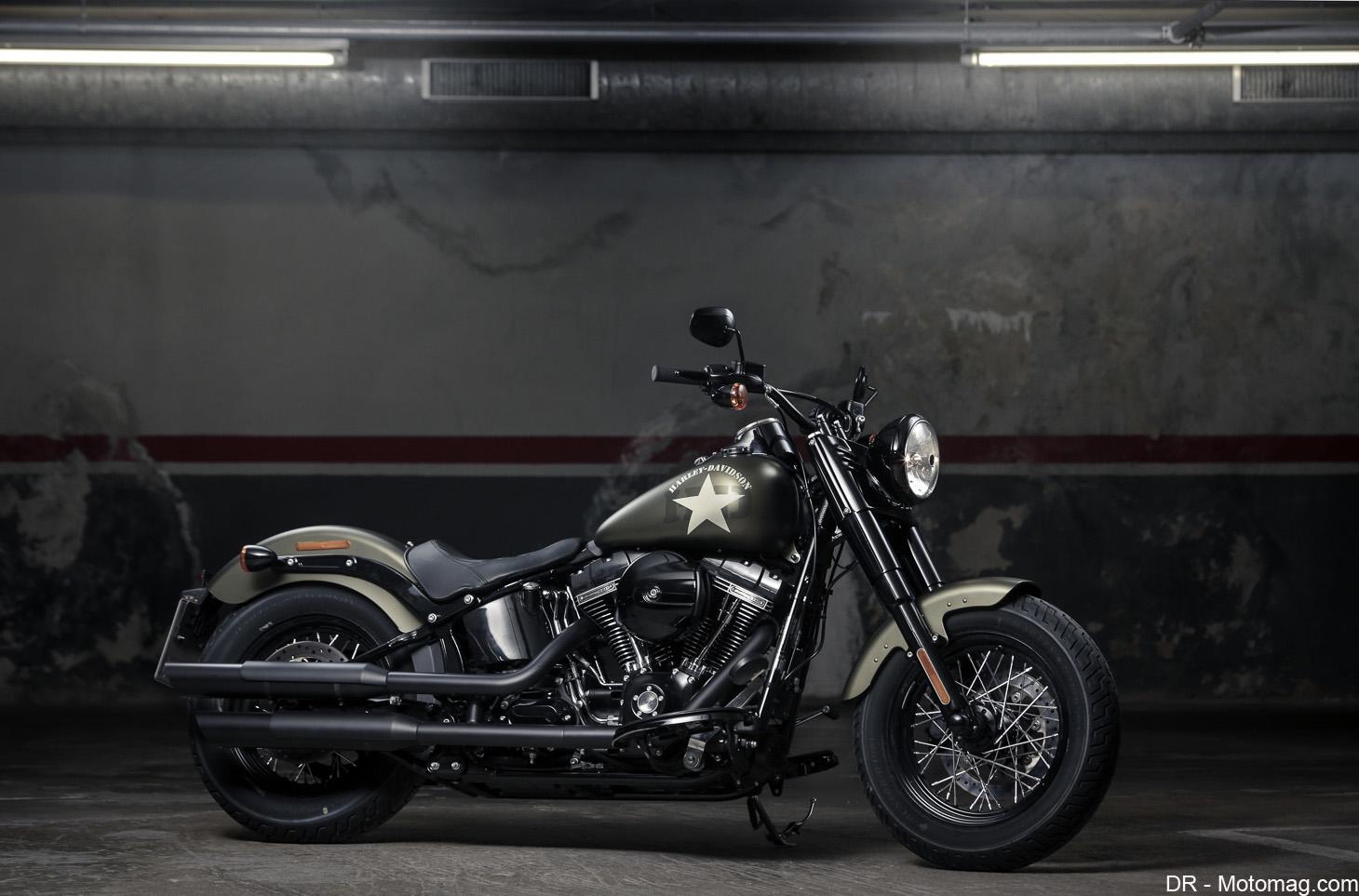 Harley davidson 1800 softail slim s d pouill e